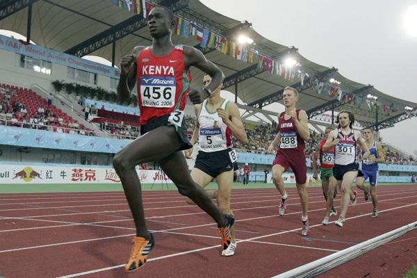 David Rudisha - 1st International Gold Medal
