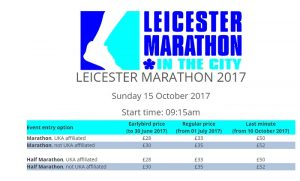 Marathon Pricing
