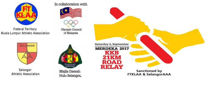 Merdeka 21KM Road Relay Run 2017