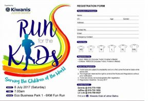 Event Details for Run for the Kids 2017