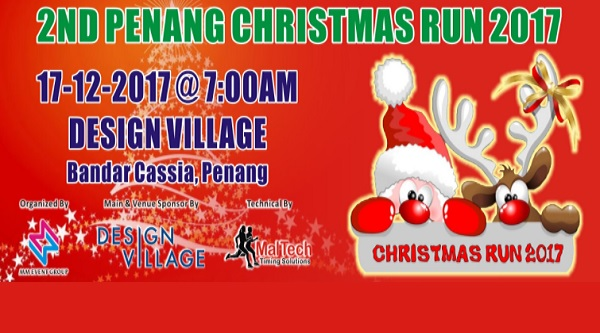 2nd Penang Christmas Run 2017 - Race Connections