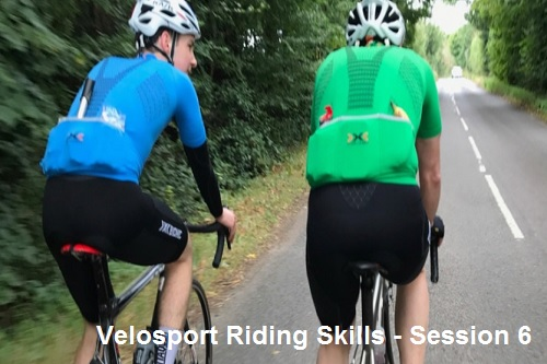Velosport Riding Skills - Session 6 - Race Connections