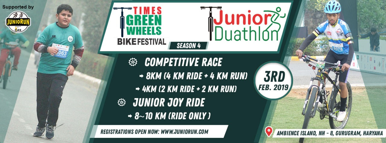 Junior Duathlon 2019 - Race Connections