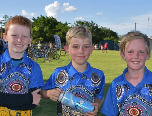 Junior Triathlon three times bigger than last year at Mount Isa City, Australia