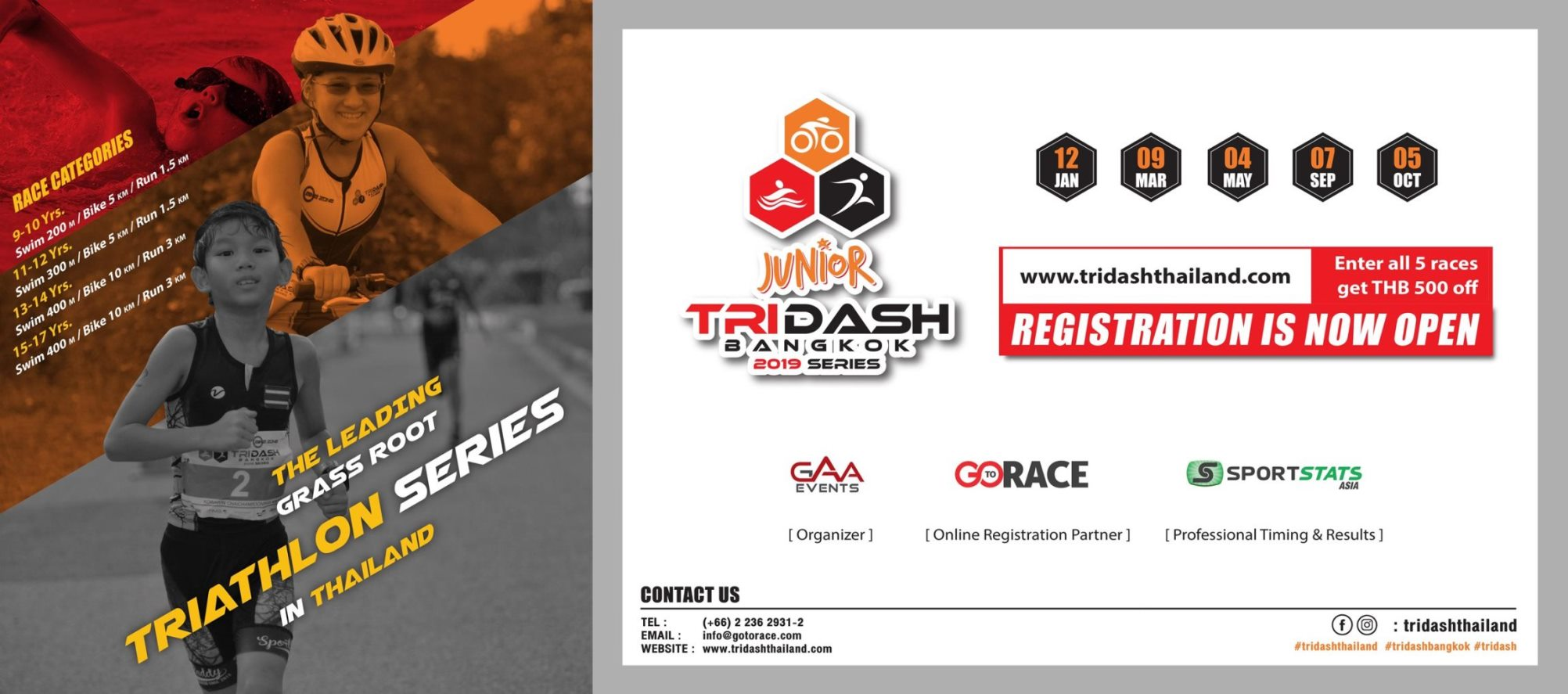 Junior Tri Dash Bangkok 2019 - Race Connections