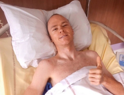 Chris Froome says he is lucky to be alive after serious accident