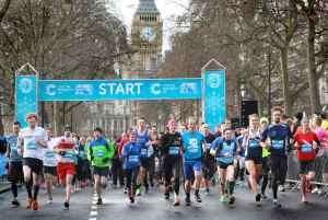 Cancer Research UK London Winter Run