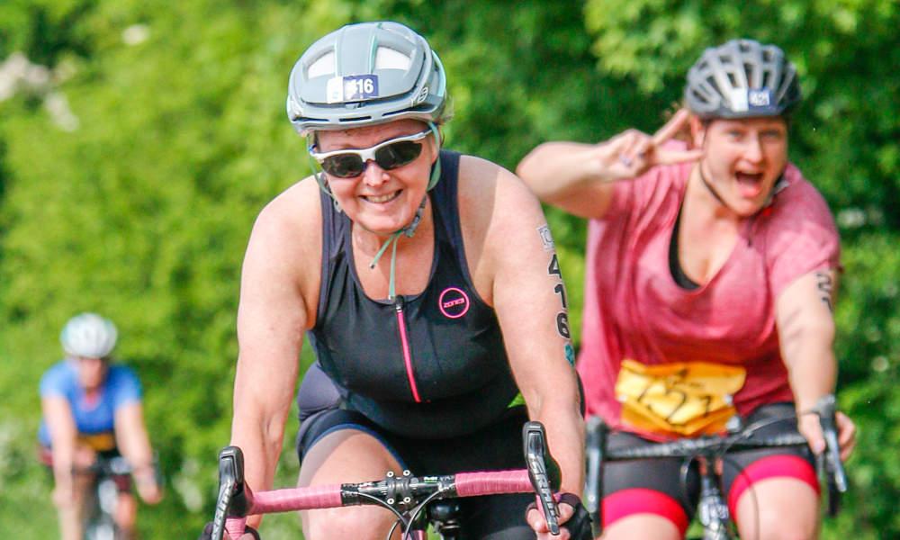 Senior Ladies Category Triathletes