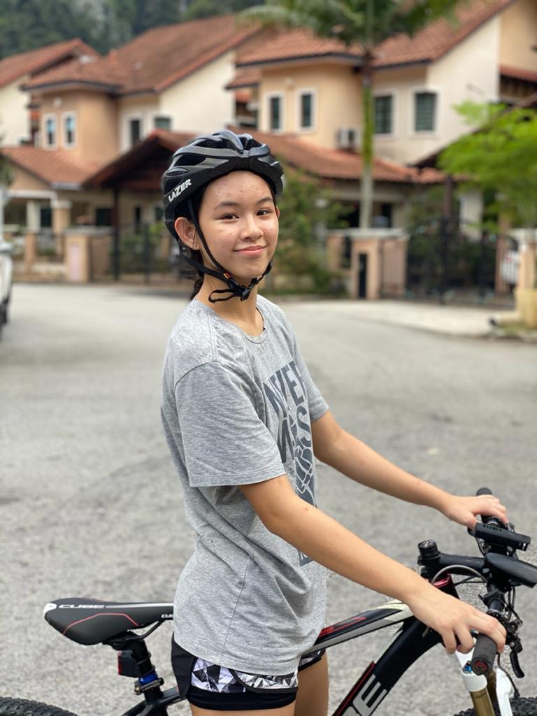 Junior Female Triathlete Malaysia